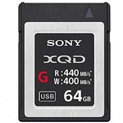 SONY CARTE XQD TYPE G 64GB