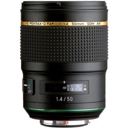 PENTAX 50/1,4 D HD FA SDM AW