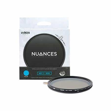 COKIN FILTRE NUANCES ND-X VARIABLE ND2-400 (82mm)