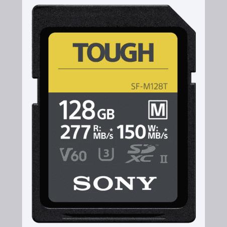 SONY CARTE SDHC SF-M TOUGH UHS-II 128GB 150 MB/S
