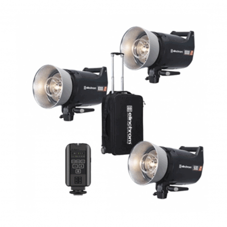 ELINCHROM KIT COMPACT ELC PRO HD 1000/1000/500