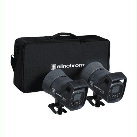 ELINCHROM KIT ELC 125 / ELC 125 - 2 BOLS 16CM - SAC