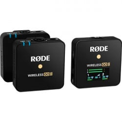 RODE MICRO WIRELESS GO II NOIR