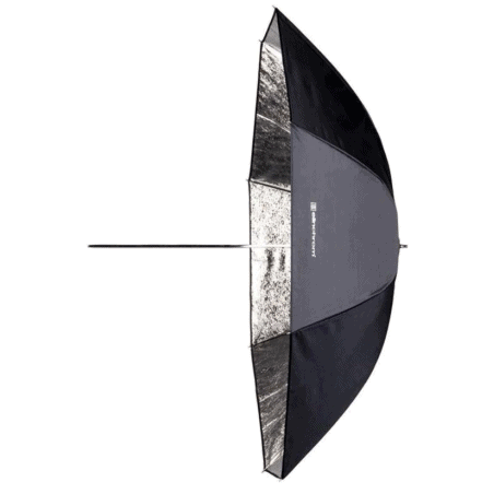 ELINCHROM PARAPLUIE SHALLOW ARGENT 105CM